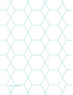 This letter-sized octagon graph paper is spaced with octagons and diamonds an… Hexagon Pattern, Hexagon Quilt, English Paper Piecing, Paper Peicing Patterns, Diamond Template, Millefiori Quilts, Graph Paper Art, Foundation Paper Piecing, Letter Size Paper
