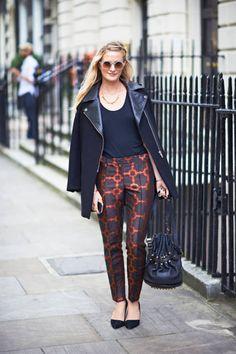 Olivia Monnington London Fashion Week Street Style