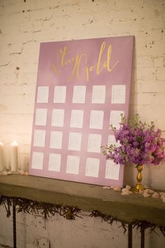 #escort-cards, #seating-chart  Photography: Elizabeth McDonnell Photography - elizabethmcdonnellphotography.com  Read More: http://www.stylemepretty.com/2014/10/23/golden-bohemian-affair-in-arizona/