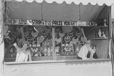 Louisiana Fair Midway Game Scene 4x6 Reprint Of 1930s Old Photo