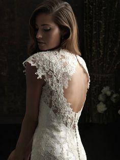 Allure 8764 Size 6 New Wedding Dress   Still White