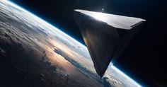 Oblivion : Un Blu-ray en orbite Spaceship Art, Spaceship Concept, Oblivion Movie, Sci Fi Ships, Futuristic Cars, Futuristic Architecture, Blu Ray, Stargate, Sci Fi Fantasy