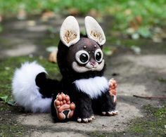 My Little Dragon: Wood Spirit 1 by Santani.deviantart.com    Oh this is tooo cute, I want one!