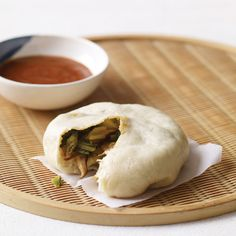 Asian Steamed Buns with Bok Choy and Chinese Chives | Food & Wine Recipe