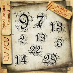 Fancy numbers 9-13-10
