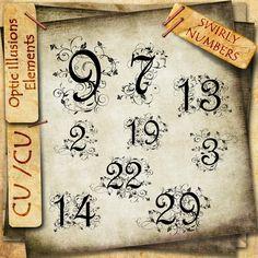 Fancy numbers 9-13-10