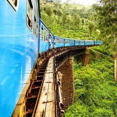 Train from Kandy to Ella in Sri Lanka via @danflyingsolo