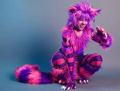 Amazing Cheshire cat costume!
