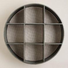 Round Thomas Metal Cubby