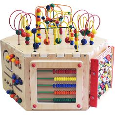 Entertaining, engaging, and educational with no loose pieces. Great for the home, schools, waiting rooms, and any child-friendly play area. Ages 3+. Made in United States by Anatex - www.deiequipment.com #DEIEquipment