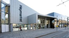 Haymarket station wins engineering award after redevelopment - BBC News