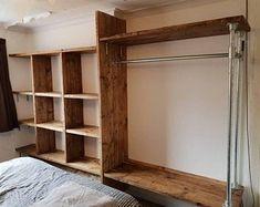 Cheap Wardrobe Closet, Open Wardrobe, Diy Wardrobe, Wardrobe Design, Wardrobe Ideas, Bedroom Turned Closet, Bedroom Closet Design, Closet Designs, Bedroom Inspo