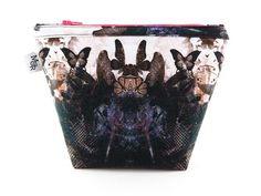 Handmade Butterflies Makeup Bag II from maxandrosie.co.uk