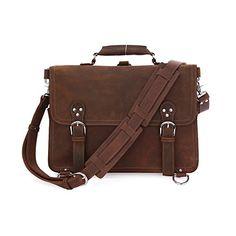 Backpacks Luggage & Bags Motivated Mens Crazy Horse Leather Backpacks Brown Genuine Leather Laptop Rucksack Durable Shoulder Bag Vintage Cowhide School Backpacks Selling Well All Over The World