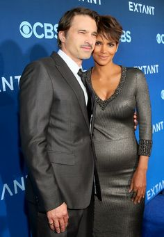 Couple Love - Halle Berry and Husband Olivier Martinez on the Red Carpet