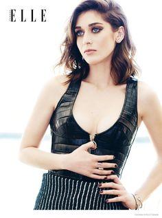 Lizzy Caplan for Elle Canada November 2014 - Louis Vuitton Fall 2014