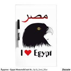 Ägypten - Egypt Memotafel mit Stift Whiteboard Whiteboard, Cards, Sticker, Pictures, Erase Board, Maps, Playing Cards