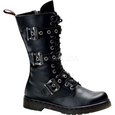 Disorder-303,Demonia Boots, Gothic Boots, Goth Boots, Punk R... - Polyvore