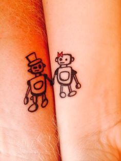 Matching tattoos for couples