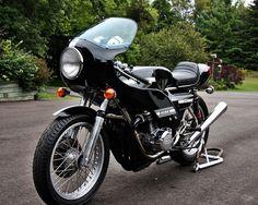 Rickman Kawasaki Completion Replica Cool Motorcycles, Vintage Motorcycles, Cafe Racer Girl, Classic Motors, Moto Guzzi, Honda Cb, Sport Bikes, Custom Bikes, Cool Bikes