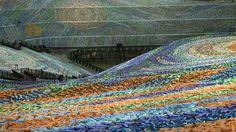 A Taiwan il quadro di Van Gogh con quattro milioni di bottiglie di plastica - La Stampa