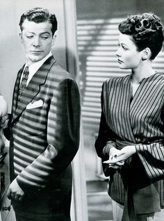 aladyloves: Dana Andrews and Gene Tierney in...