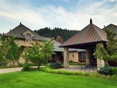 This Montana dream home of over 9,000 sq ft is the ultimate in quality and design, and meets every need of even the most discriminating buyer. It offers 5 bedrooms + bonus rooms, 5 full baths and 2 half baths, 4 car garage, one bay heated shop, a Pigeonnier garden house and a huge private courtyard for gracious entertaining. Contact Dawn Maddux for more information at 406.550.4131.
