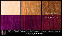 Manic Panic Deep Purple Dream. Purple hair.