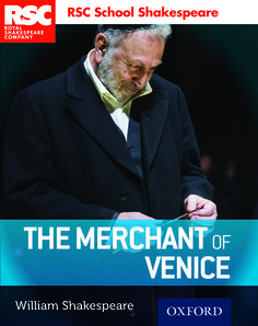 RSC School Shakespeare: The Merchant of Venice. Find out more at www.oxfordsecondary.co.uk/rsc.