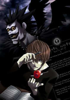 Light Yagami and Ryuk from Death Note