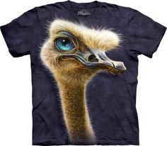 Ostrich Totem Struś - The Mountain - www.veoveo.pl - koszulka z szopem