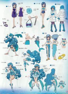 Hanon Hosho DvD Booklet picture by Sheepvieh Mermaid Melody, Mermaid Princess, Anime Mermaid, Mermaid Art, Magical Girl, Japanese Drawings, Sailor Moon Character, Mermaid Pictures, Estilo Anime