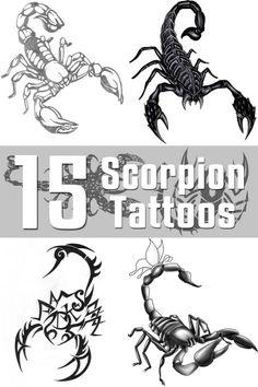 Scorpion Tattoo Designs