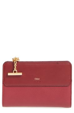 Chloé 'Joe' Calfskin French Wallet