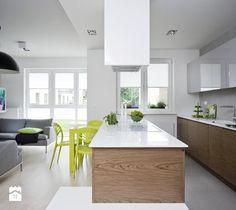 Aranżacje wnętrz - Kuchnia: Kuchnia nowoczesna - protfolio - Kuchnia, styl…
