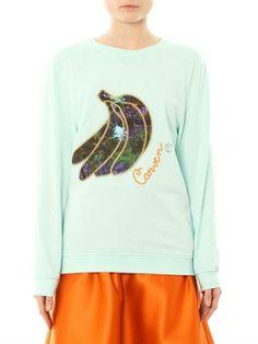 Carven Bananas sweatshirt