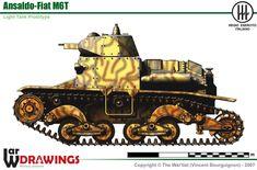 Regio Esercito - Prototipo del carro Ansaldo-Fiat M6T