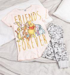 Women's Winnie The Pooh Friends Forever Pyjamas Cute Winnie The Pooh, Winnie The Pooh Friends, Best Pajamas, Girls Pajamas, Pajama Outfits, Disney Outfits, Disney Clothes, Disney Gifts For Her, Disney Movies To Watch