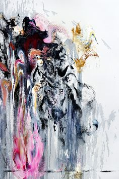 maggi hambling art   SNAP_ Wall of Water by Maggi Hambling at Paul Stolper Gallery (IFPDA ...