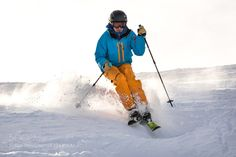 Mogul Slope Skiing VIII by GordonSchuecker