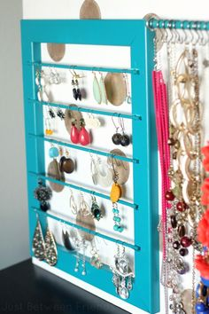 Just Between Friends: DIY Jewelry Display
