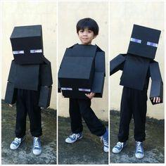 DIY Minecraft Enderman costume