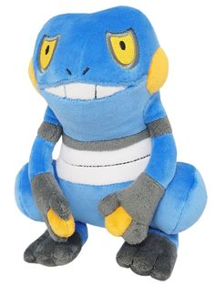 01186b9a89b Sanei Pokemon Go All Star Collection Croagunk Stuffed Plush Doll