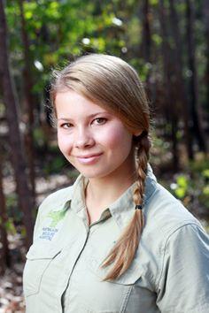 Bindi Sue Irwin, daughter of Terri and the late Steve Irwin.