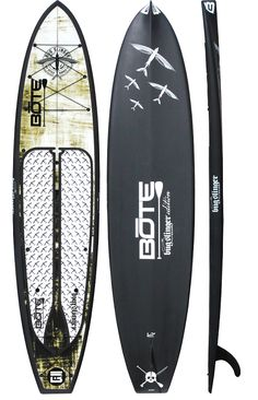 "Fish? SUP? 12′ BOTE HD stand up paddle board featuring the Bug Slinger™ Fly Gear's ""Glider"""