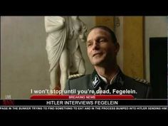 Hitler interviews Fegelein - YouTube