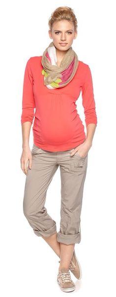 Esprit collection for moms Maternity Swimwear, Maternity Tops, Maternity Dresses, Maternity Fashion, Maternity Style, Baby Bump Style, Mommy Style, Maternity Clothes Online, Pantalon Cargo