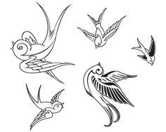 bird line graphic | ... graphics, icon, illustration, isolated, lines, ornament, ornamental