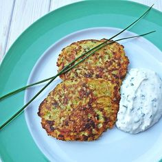 Zucchini Puffer, Salmon Burgers, Clean Eating, Pork, Meat, Cooking, Ethnic Recipes, Drink, Fodmap Recipes