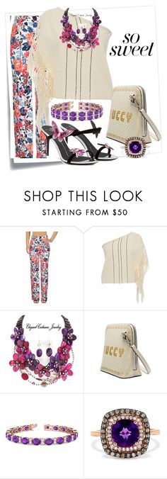 So Sweet.... by harrietta103 on Polyvore featuring Jaline, Sonia Rykiel, Effy Jewelry, Allurez, Giuseppe Zanotti, Post-It, gucci, giuseppe and SONIA